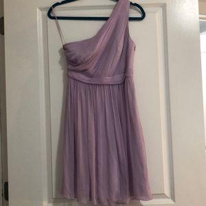 Lavender JCrew Bridesmaid Dress